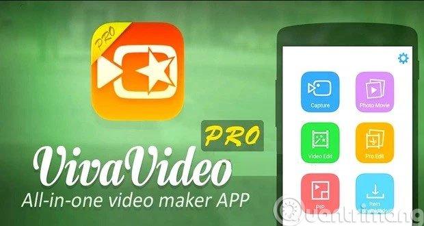 Ứng dụng chỉnh sửa video VivaVideo