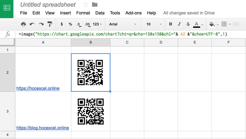 Cách Tạo Google Sheet