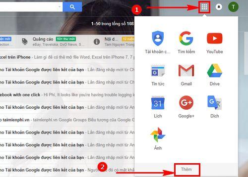 cach tao trang google sheets excel 3