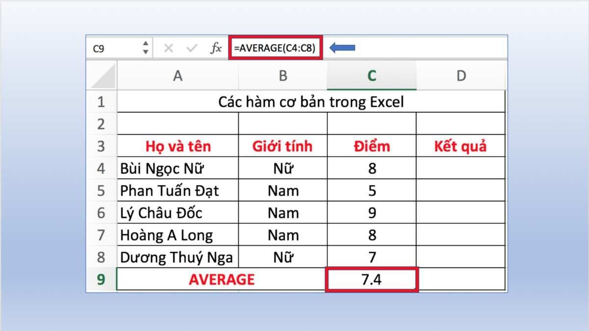 Hàm Number Trong Excel
