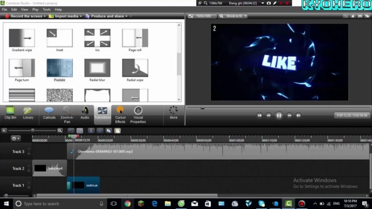 Phần Mềm Chỉnh Sửa Video Cho Youtuber