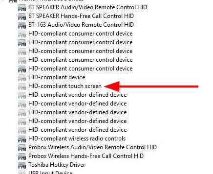 Bấm đúp vào HID-compliant touch screen