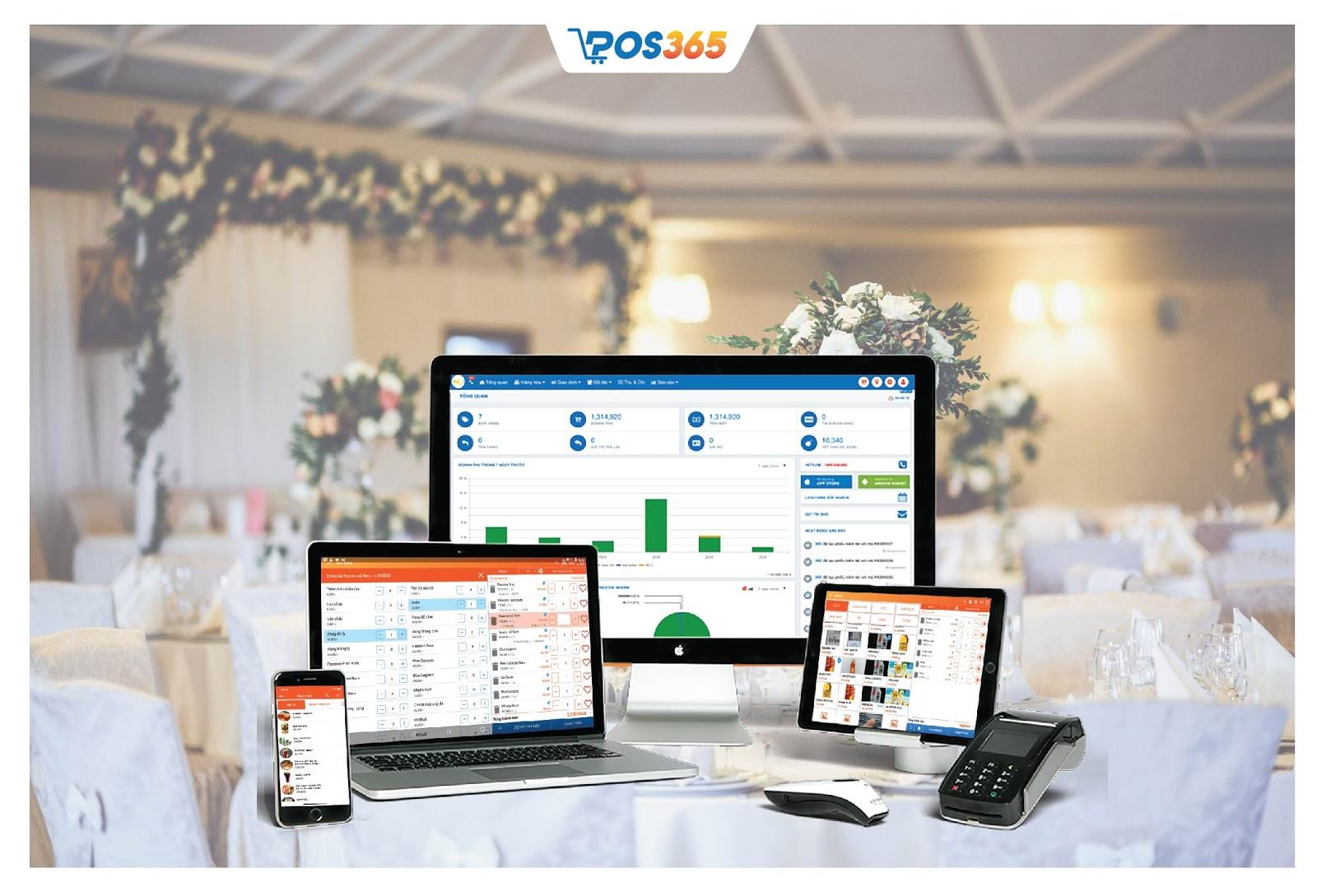 Quản lý nhà hàng với phần mềm POS365