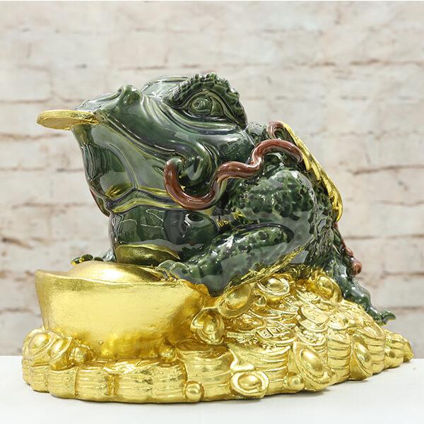 Thiềm Thừ Cóc Ngậm Tiền Phong Thủy - Quà tặng khai trương ý nghĩa