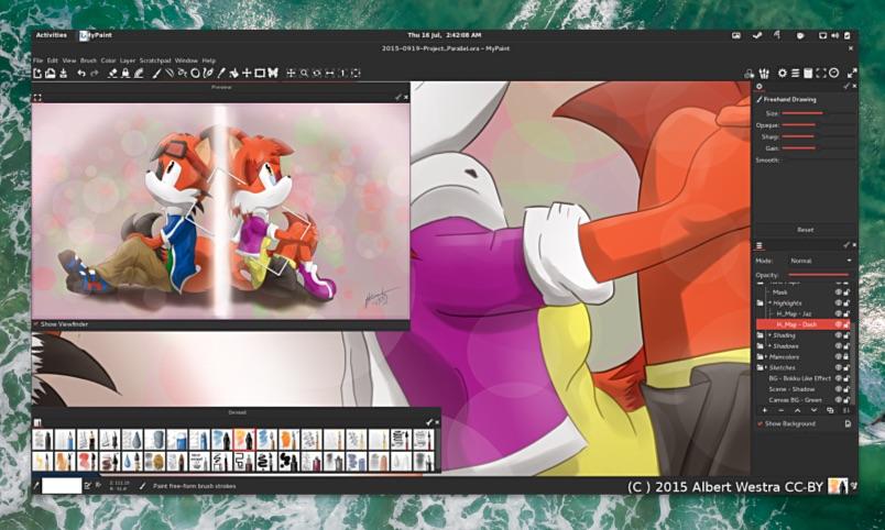 Open Source Graphics App MyPaint 2.0 Released - OMG! Ubuntu!
