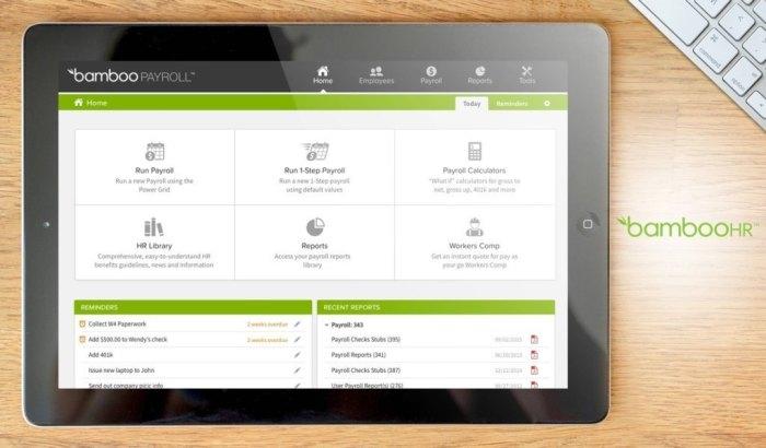 Phần mềm nhân sự BambooHR