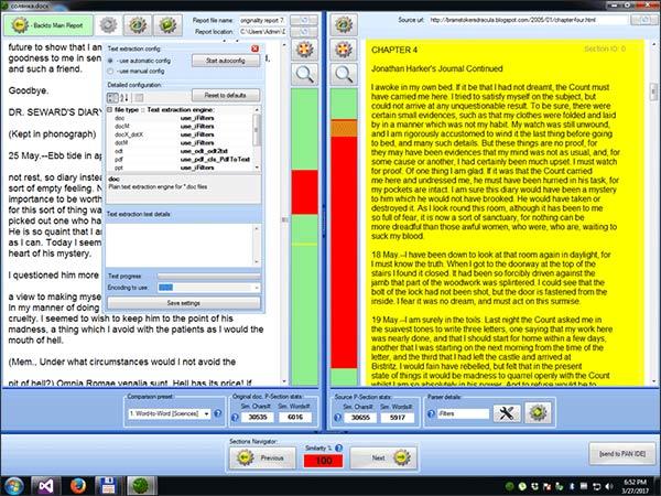 Công cụ Plagiarism Detector