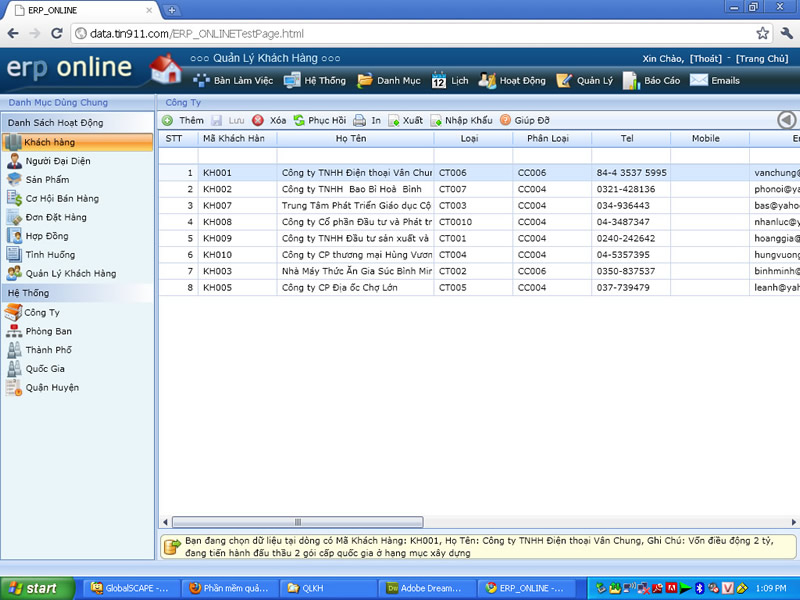 Phần mềm quản lý bán hàng Perfect