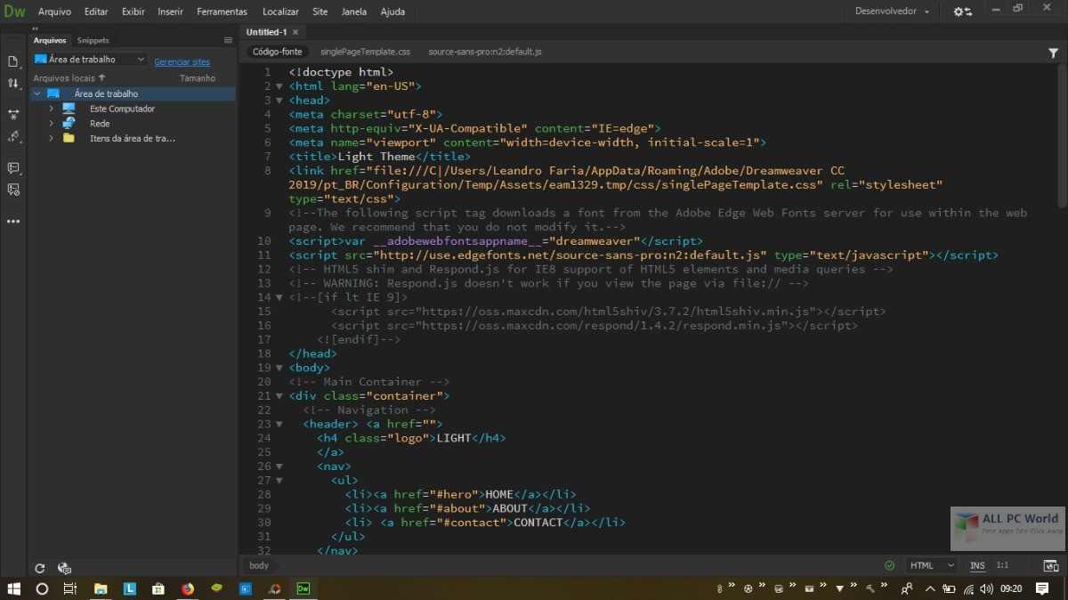 Adobe Dreamweaver CC 2020 for Win/Mac - Hướng dẫn cài đặt