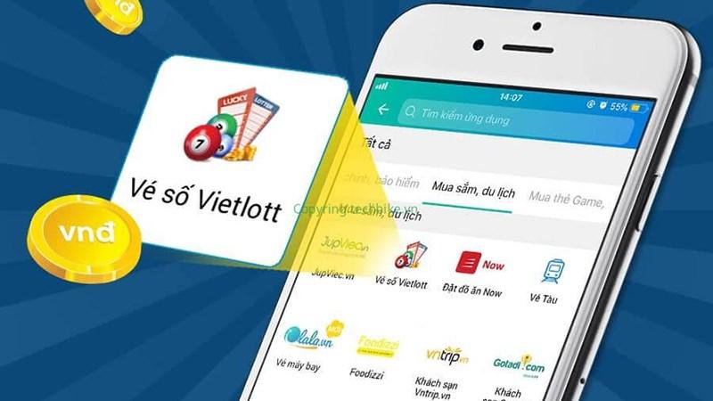 7 cách mua vé số Vietlott online thanh toán trực tuyến trên điện thoại