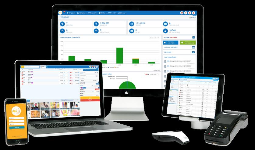 Phần mềm quản lý bán hàng POS365 với những tính năng tuyệt vời